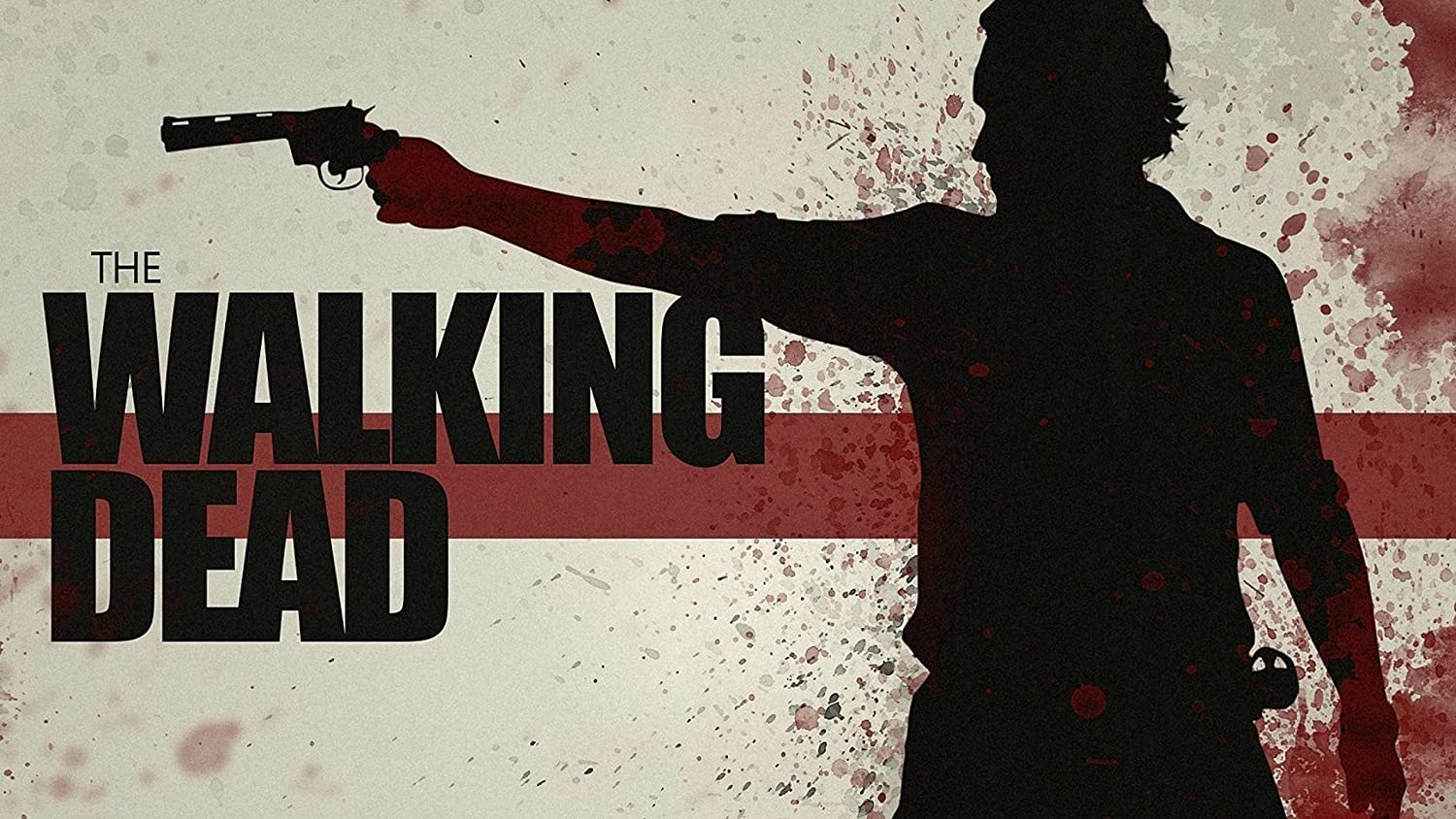 The Walking Dead Movie Poster Canvas Picture Art Print Premium Quality A0 A1 A2 A3 A4 (A0 Canvas (30 40))