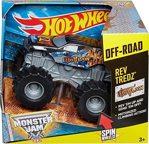 grandes precios de descuento Hot Hot Hot Wheels Monster Jam Rev Trojoz Iron Outlaw Truck by Hot Wheels  40% de descuento