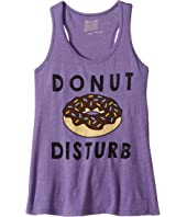 The Original Retro Brand Kids Donut Distrub Grape Slub Tank Top (Big Kids)