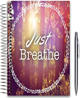 Tools4Wisdom 2020 Planner 5x8 - November 2019-2020 - Daily Weekly Monthly Hardcover Planner - Dated Oct Nov December 2019 Plus 2020 Calendar Year - Just Breathe Hardcover