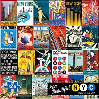 Re-Marks New York 500 Piece Puzzle