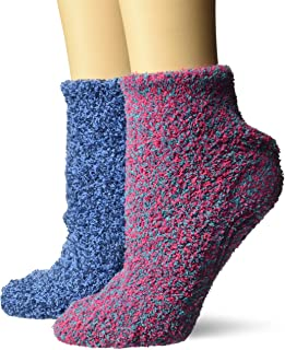 Dr. Scholl's Women's 2 Pack Soothing Spa Low Cut Lavender + Vitamin E Socks..