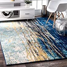 nuLOOM Traditional Waterfall Vintage Abstract Area Rug, 5' x 7' 5