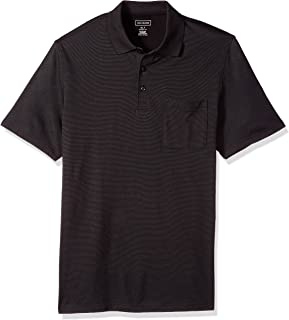 Van Heusen Men's Big and Tall Short Sleeve Jacquard Stripe Polo Shirt