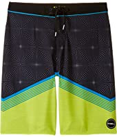 O'Neill Kids - Hyperfreak Illusion Boardshorts (Big Kids)