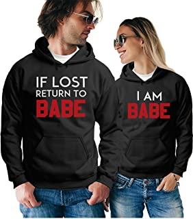 Matching Couple Hoodies - Funny Pullover Sweatshirts - His and Hers Outfits