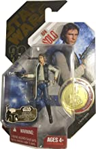 Star Wars 30th Anniversary Han Solo A New Hope 3.75 Inch Action Figure With Gold Coin