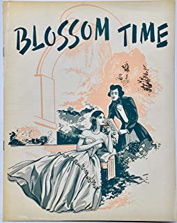 1938 - Blossom Time Play Program - Music by Franz Schubert - Adapted by Sigmund Romberg - Photos - Character List - Collec...