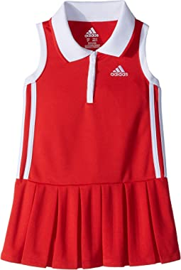 adidas Kids Twirl Polo Dress (Toddler/Little Kids)