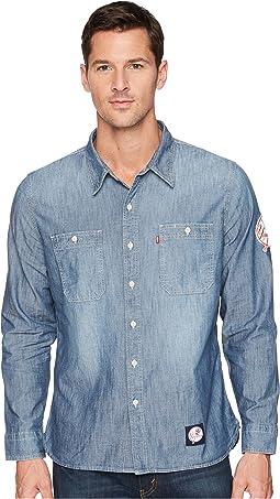 Levi's® Mens NY Yankees LSC Chambray Shirt