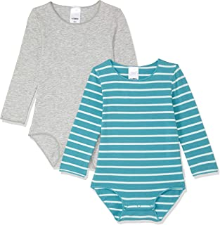Bonds Baby Wonderbodies Long Sleeve Bodysuit (2 Pack)