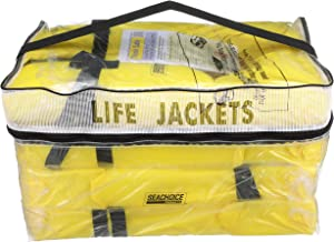 Seachoice Life Vest, Type II Personal Flotation Device – USCG Approved – Multiple Sizes and Colors