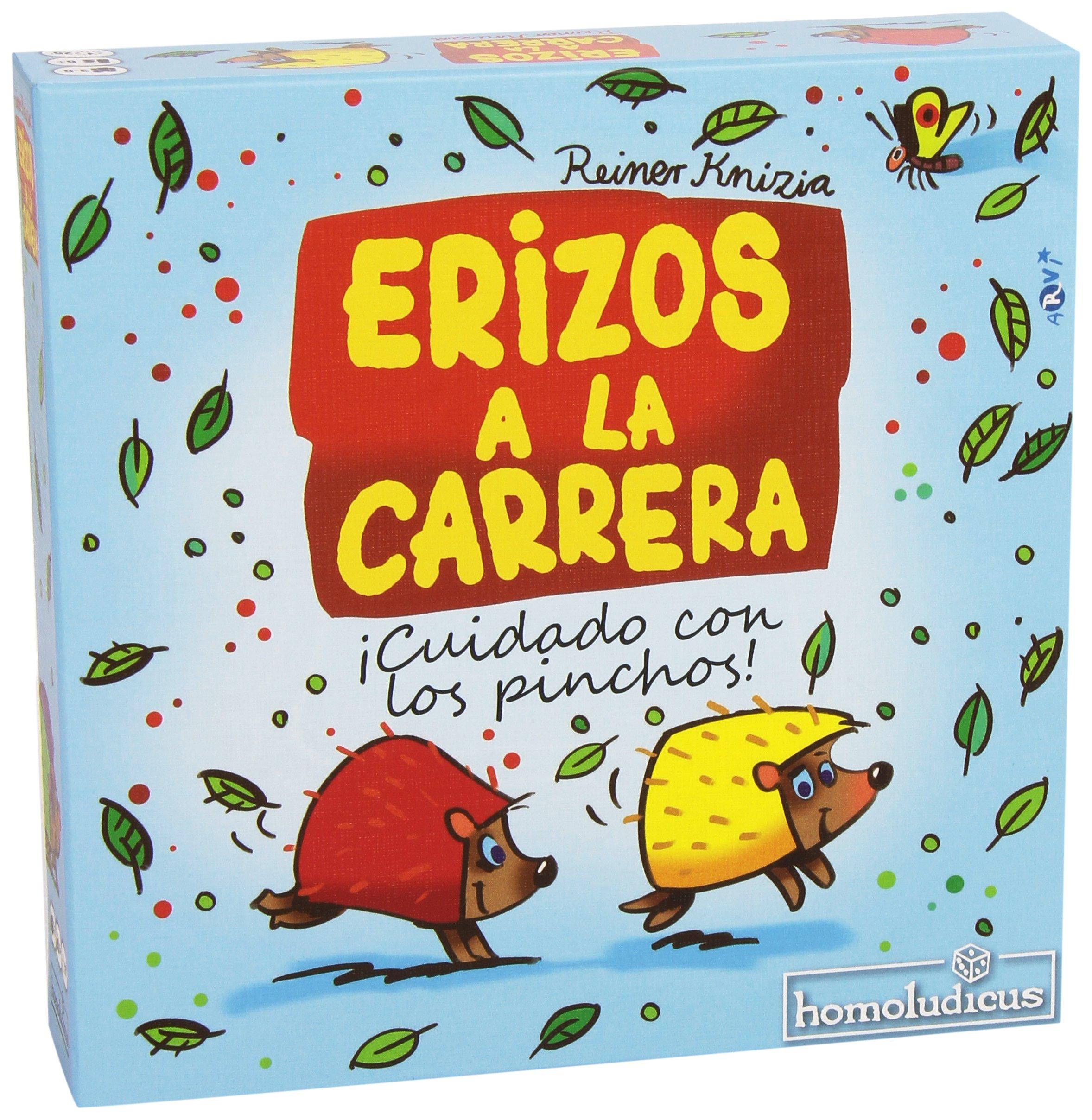 Devir- Erizos a la Carrera (HLERIZOS): Amazon.es: Juguetes y juegos