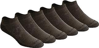 Dickies Men's Dri-tech Moisture Control 6 Pairs No Show Socks