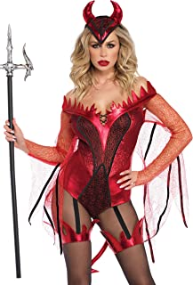 Women's Sexy Red Devil Costume