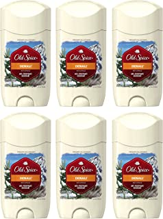 Old Spice Fresh Collection Invisible Solid Denali Scent Men's Anti-Perspirant & Deodorant 2.6 Ounce (Pack of 6)