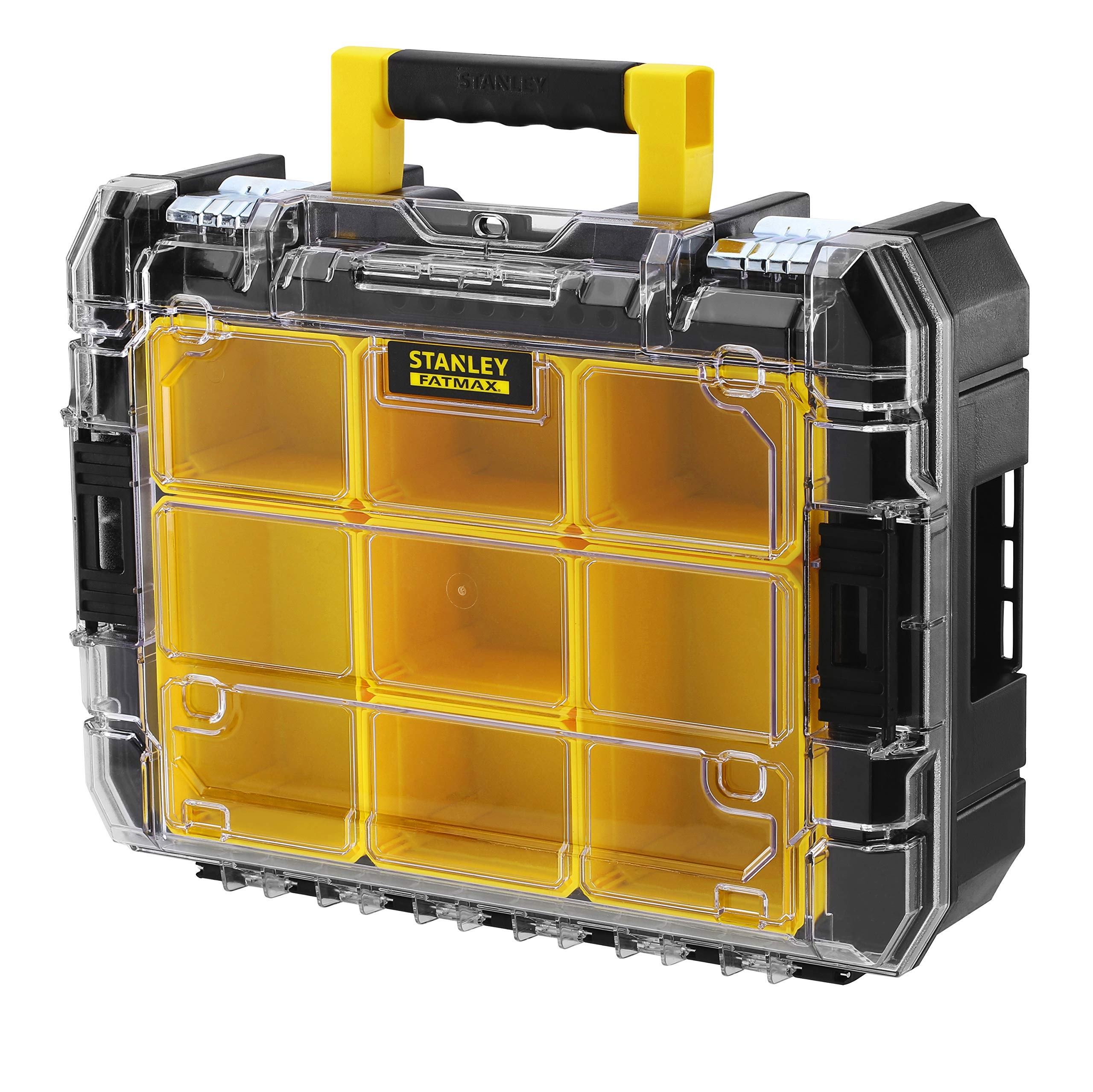Stanley FMST1-71970 FMST1-71970-Organizador con Tapa Transparente Pro-STAK V FatMax: Amazon.es: Bricolaje y herramientas