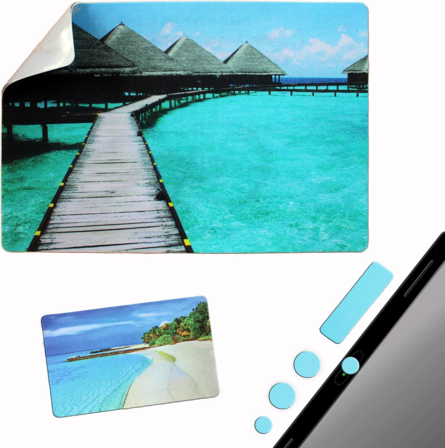 Same day shipping Mouse Pad Adhesive Bottom - Sticks Portable Surface Any W Bombing free shipping to