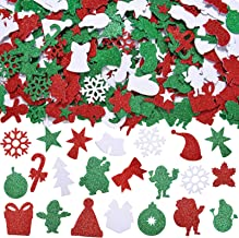 NEW CHRISTMAS FOAM STICKERS Your Choice Xmas Tree Santa Asst HOLIDAY STYLE