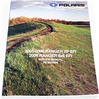 New Oem 2006 Polaris Ranger 700 Xp Efi 4X4 6X6 Service Shop Manual 9920224