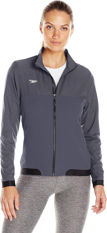 Speedo damen Female Tech Warm Up Jacket, schwarz, Large