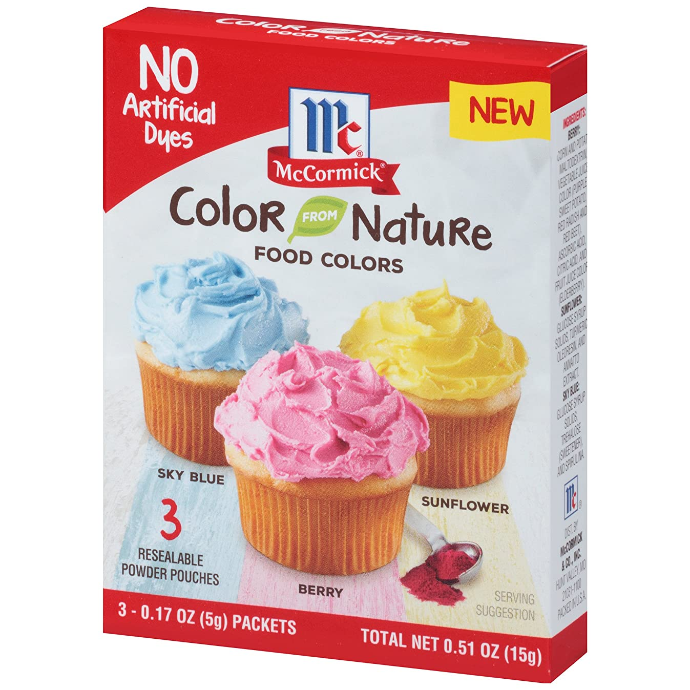 McCormick Color From Nature, 0.51 oz