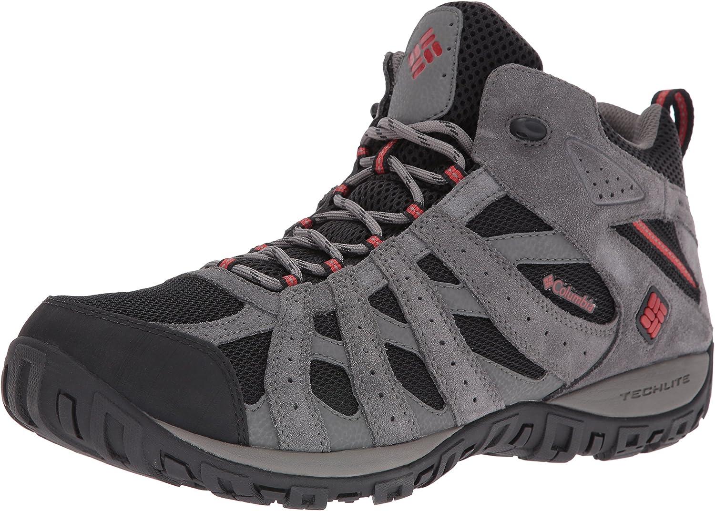 Columbia Men's Redmond Mid Waterproof Hiking shoes