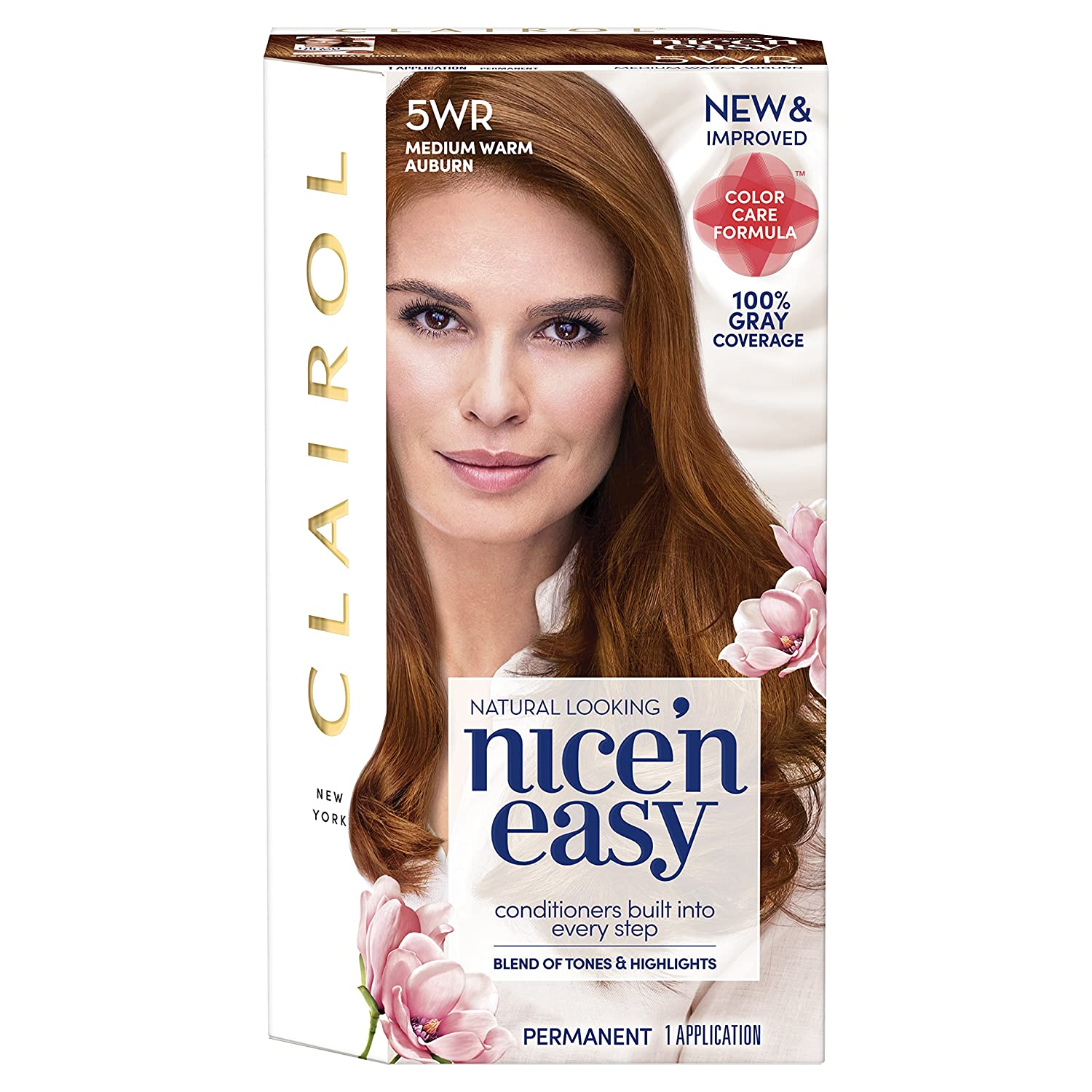 Clairol Nice'n Easy Permanent Hair Dye 5WR H Auburn Medium Warm Ranking All stores are sold TOP5