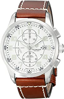 Victorinox Men's 241598 AirBoss Analog Display Swiss Automatic Brown Watch