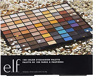 e.l.f. 100 Color Eyeshadow Holiday Palette, 3.17 Ounce