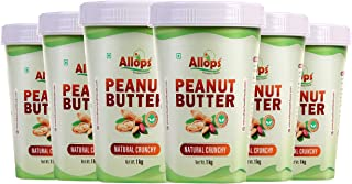 Allops Natural crunchy Peanut Butter 100% Veg. (6)