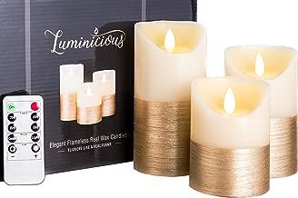 Best luminara battery operated pillar flameless candle Reviews