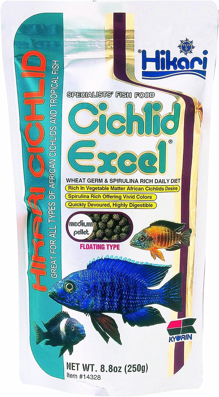 Cichlid Excel 8.8oz  Medium Pellet