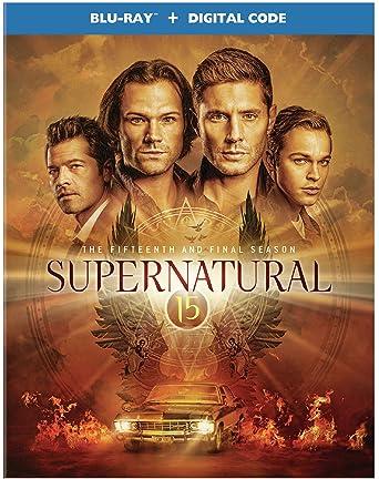 Supernatural: The Fifteenth and Final Season (Blu-Ray + Digital)