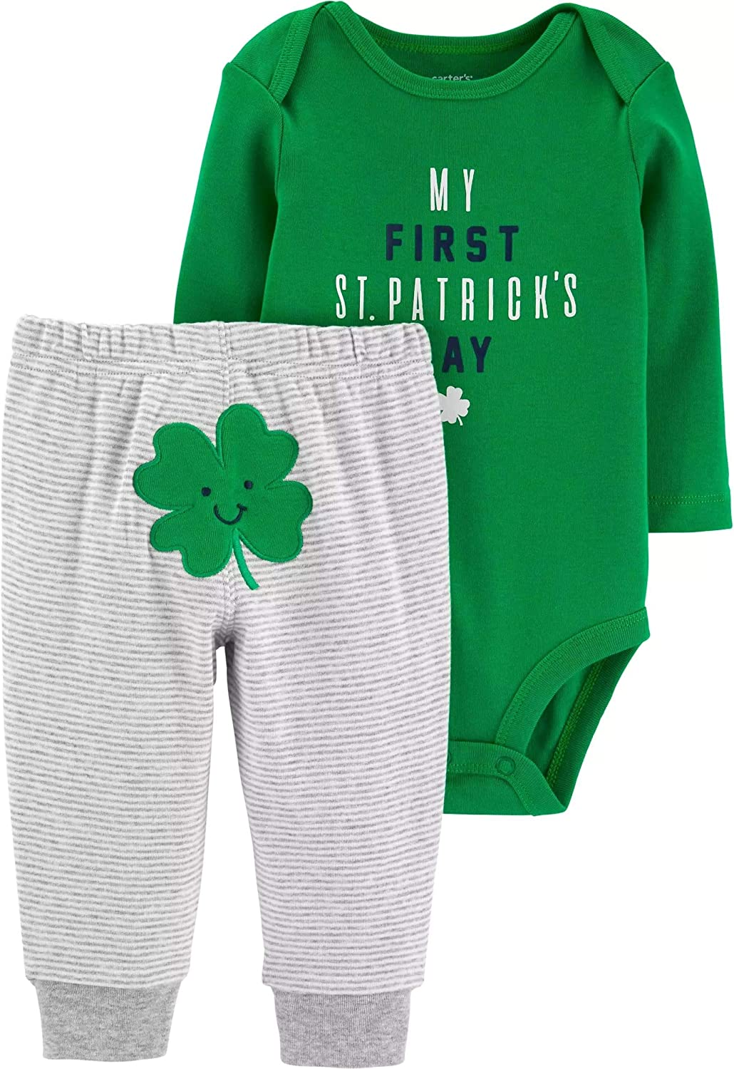 Carter's Baby Boys' Direct store Luckiest Set and overseas Pants Bodysuit