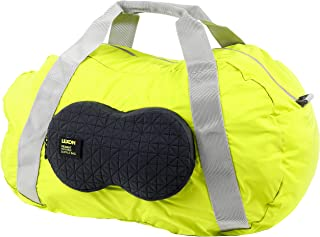 Foldable, Lightweight Peanut Duffel Bag (Lime Green)