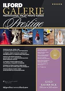 ILFORD 2003174 GALERIE Prestige Gold Raster Silk - 13 x 19 Inches, 50 Sheets