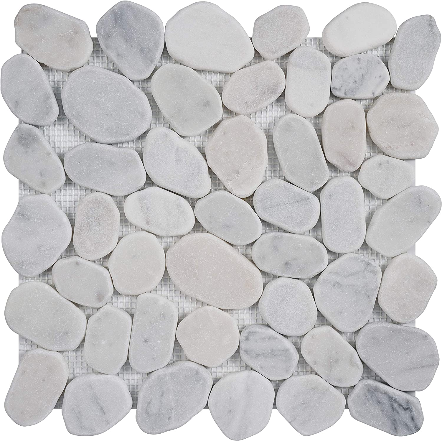 Simple Tile - 5 Sheets Kitchen Year-end gift for Mosaic Marble Backsplash Popular products
