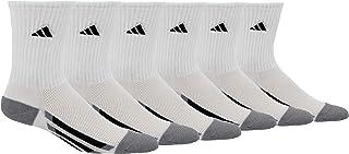 adidas Youth Kids-Boy's/Girl's Cushioned Crew Socks (6-Pair)