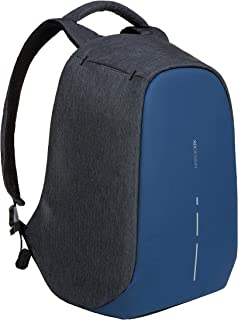 XD Design Bobby Compact Anti-Theft Laptop USB Backpack Diver Blue (Unisex Bag)