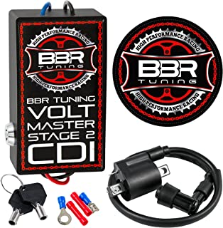 BBR Tuning Volt Master STAGE 2 High Performance Racing with Keys CDI 48cc, 66/80cc 2-Stroke Motorized Bicycles and Bike Engine Kits
