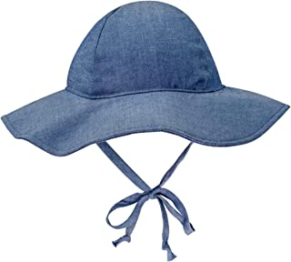 Baby Floppy Wide Brim Sun Hat Breathable Cotton UPF 50 Protective UV Ray for Kids Protection(15 Styles)