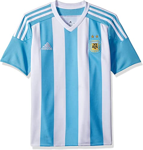 Adidas Argentine Domicile Youth Jersey-blanc