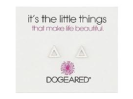 It's The Little Things Open Triangle Earrings