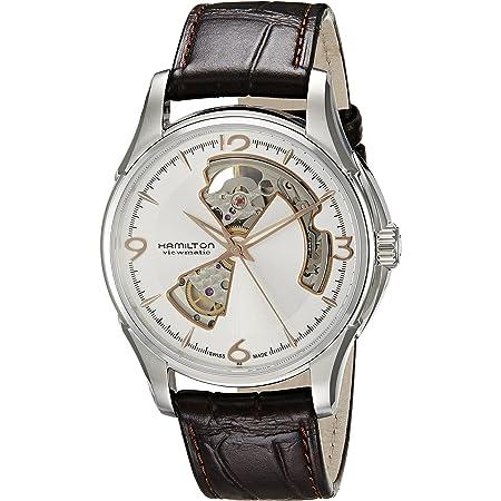 Amazon.com: Hamilton Men's Open Heart Watch #H32565555: Watches
