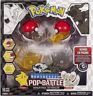 Pokemon Pop 'N Battle Rivalry Pack B&W Series #3 Mincinno And Pikachu