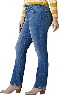 Women's Plus Size Flex Motion Regular Fit Straight Leg Jean