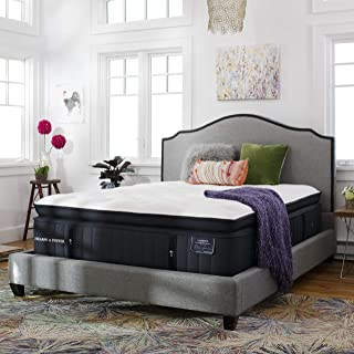 Stearns & Foster Lux Estate, 16-Inch Luxury Ultra Plush Euro Pillowtop Mattress and 9-Inch Foundation, King, Hand Built in The USA, 10 Year Warranty