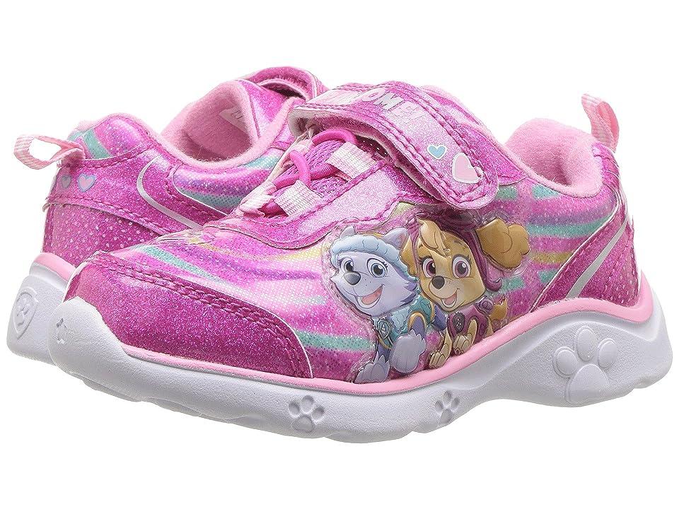 Josmo Kids Paw Patrol Sneaker (Toddler/Little Kid) (Hot Pink) Girls Shoes