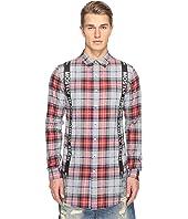 Mostly Heard Rarely Seen - Suspender Runner Plaid Shirt